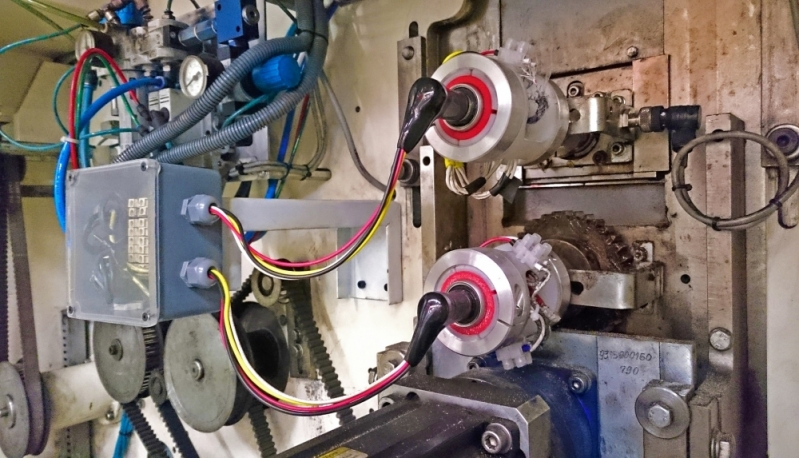 Conexões Rotativas para Máquinas de Fraldas Bofete - Conexão Rotativa para Embaladeiras