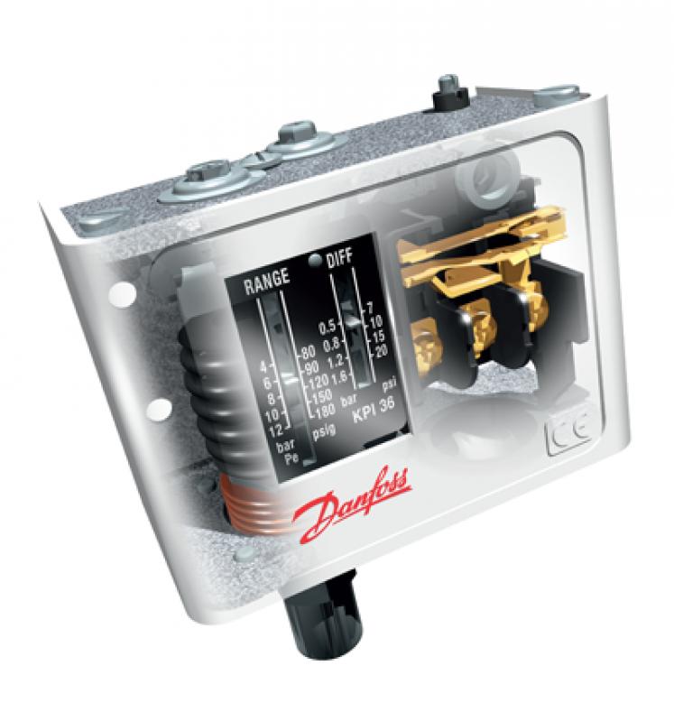 Distribuidores de Termostato Danfoss KP Iacri - Termostato Industrial Danfoss