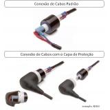 conectores elétricos rotativos Riolândia