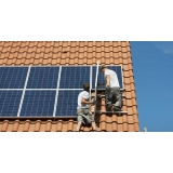 painel solar para casa orçar Lucélia