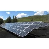 painel solar para comercio