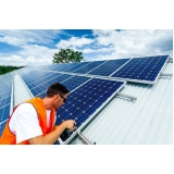 painel solar para industria