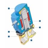 válvula de bloqueio para gás Ipaussu