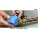 válvula solenoide danfoss para vapor preço Itapeva